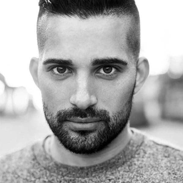 Stylish Male Short Hair And Beard Styles