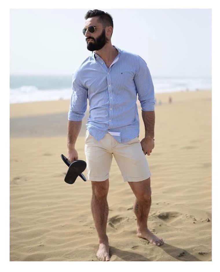 Tenue de mode élégante pour hommes
