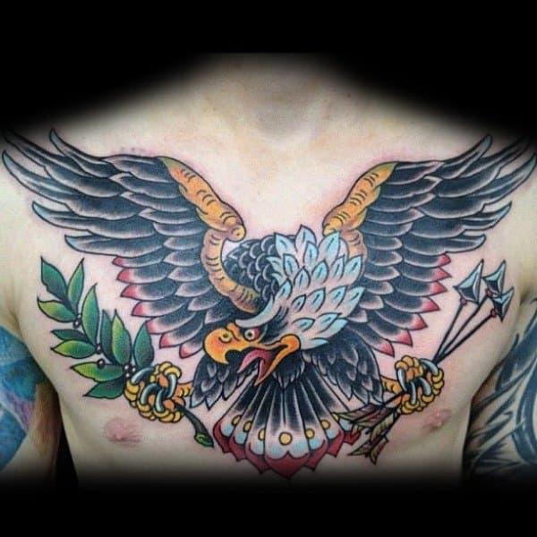 Stylish Mens Badass Eagle Tattoos