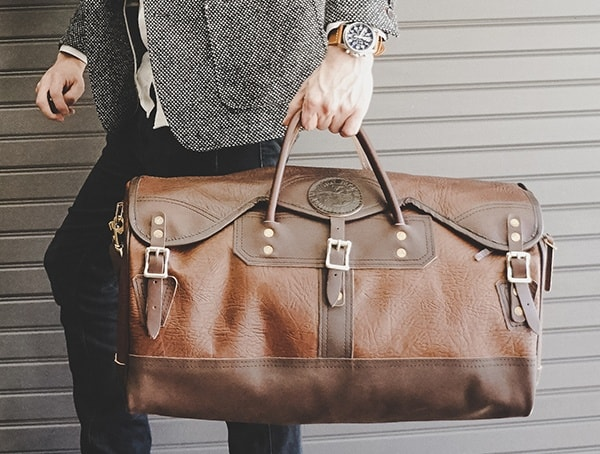 Stylish Mens Bison Leather Bags Duluth Pack Sportsmans Duffel Reviewed