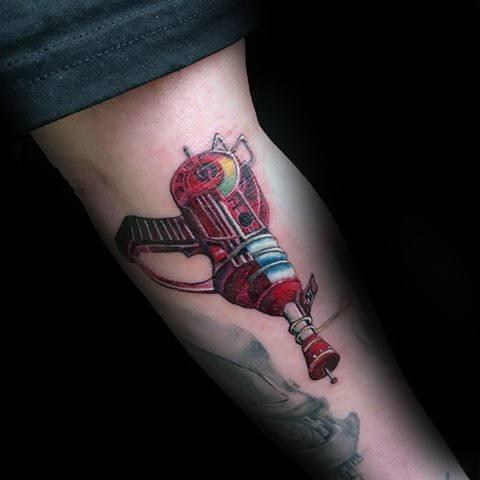 Stylish Mens Call Of Duty Tattoos Inner Arm Bicep