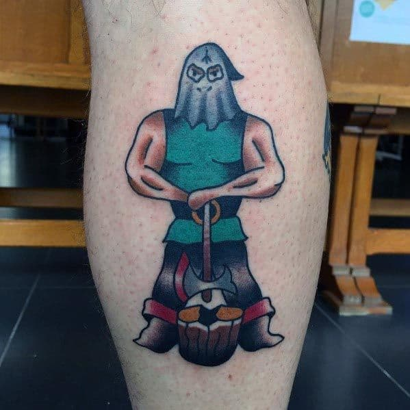 Stylish Mens Executioner Tattoos