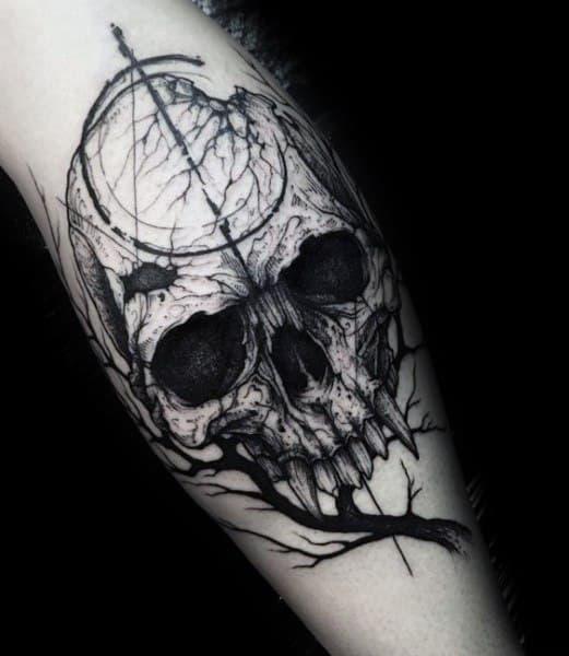 Stylish Mens Gothic Tattoos