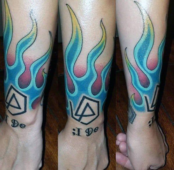 Stylish Mens Linkin Park Tattoos