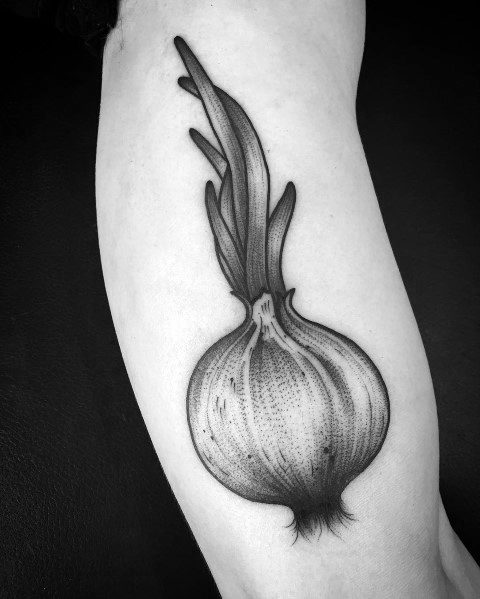 Stylish Mens Onion Tattoos