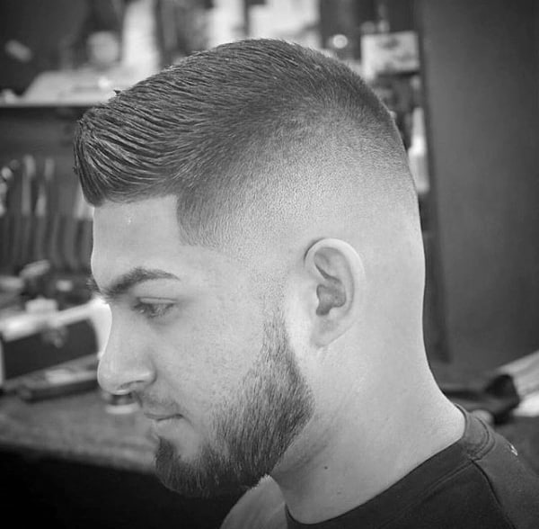 Stylish Mens Short Fade Hairstyles Crew Cut
