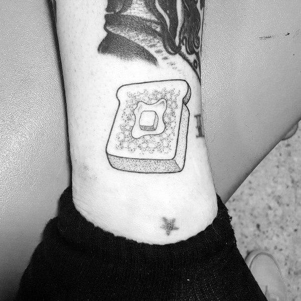 Stylish Mens Toast Tattoos