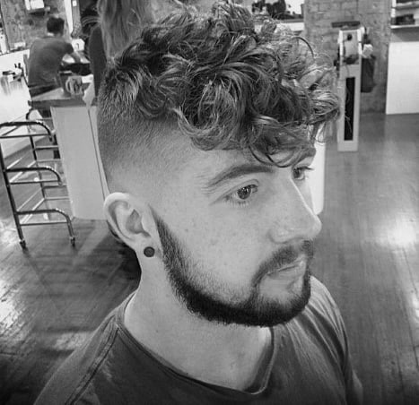 Stylish Mens Undercut Hairstyle Medium