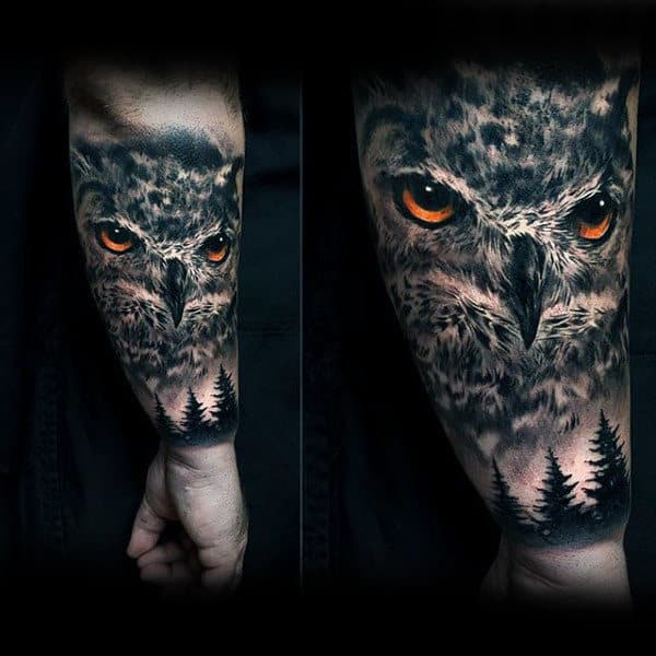 Stylish Modern Own Tattoo Half Sleeve On Man