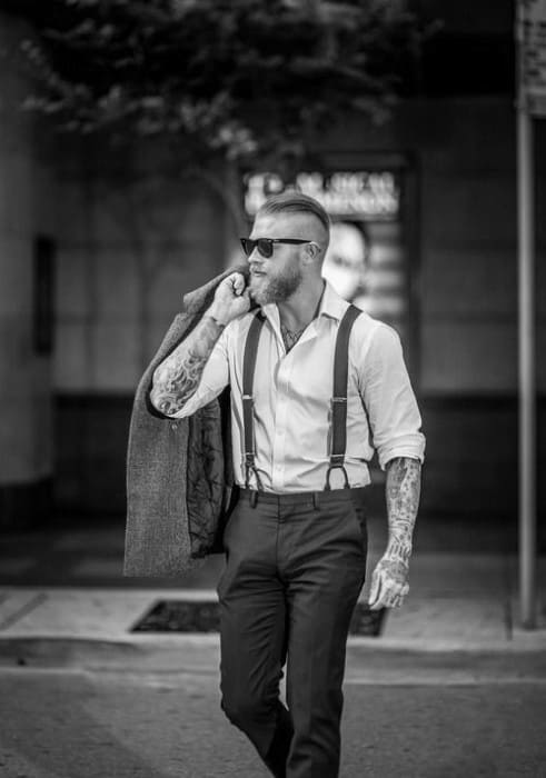 Stylish Slicked Back Undercut Hair For Men