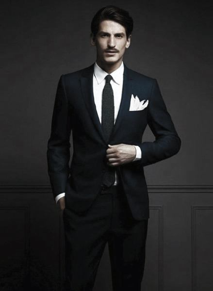 Suave Navy Blue Suit Style Inspiration For Businessmen