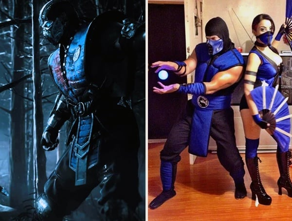 Sub Zero Mortal Kombat Best Mens Halloween Costumes