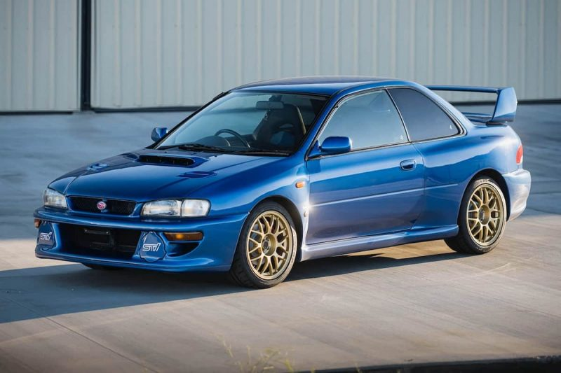 Relive Your Youth with this 1998 Subaru Impreza 22B STI Coupe