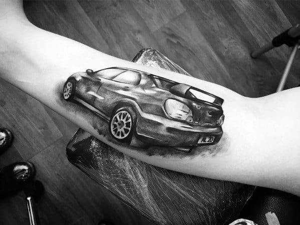 Subaru Tattoo Ideas For Men