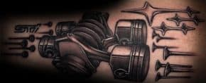 40 Subaru Tattoo Ideas For Men – Automotive Designs
