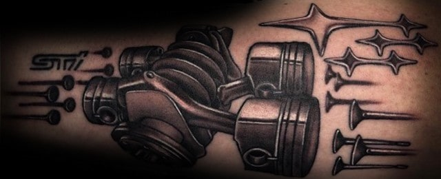 40 Subaru Tattoo Ideas For Men – Automotive Designs