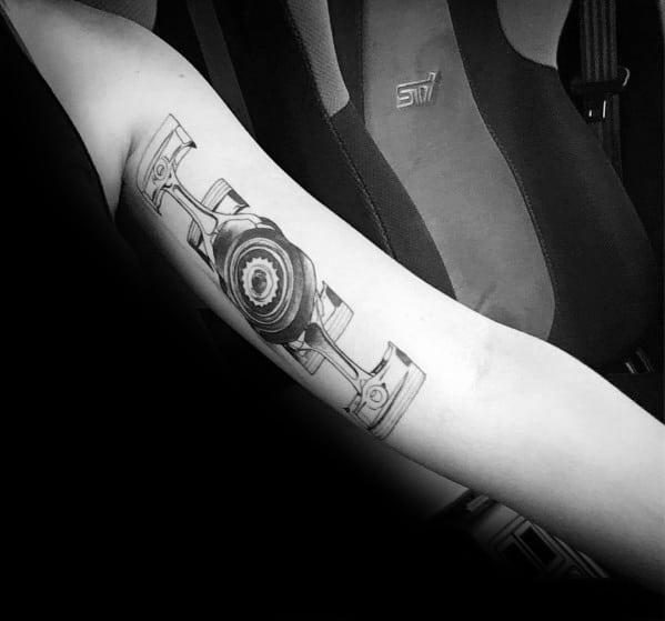 Subaru Tattoo Inspiration For Men