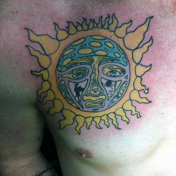 Sublime Male Tattoos