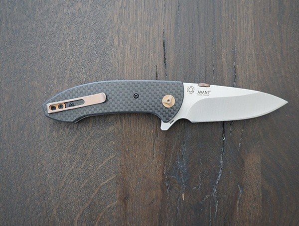 Subtle Bronze Details Crkt 4620 Avant Folding Knife