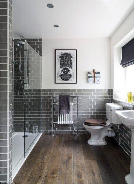 narrow small shower ideas