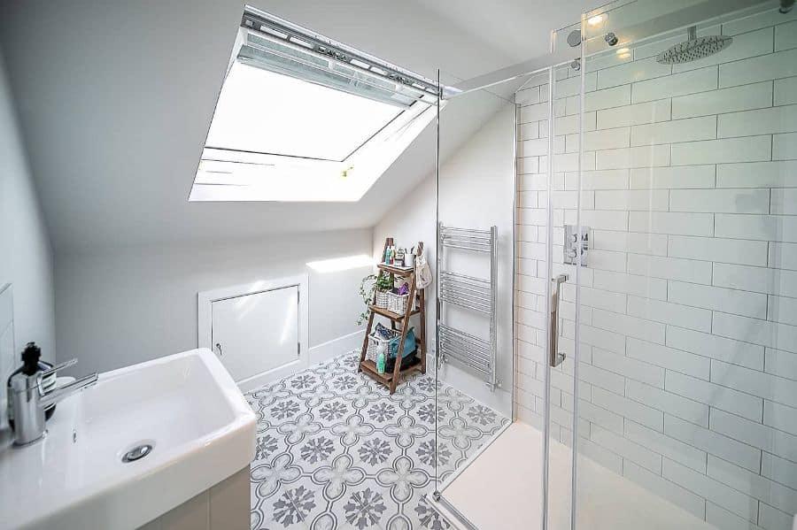 Subway Small Shower Ideas Behindthatbluedoor