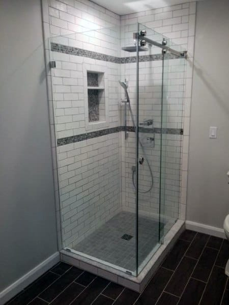 Subway Tile Corner Shower Spectacular Ideas