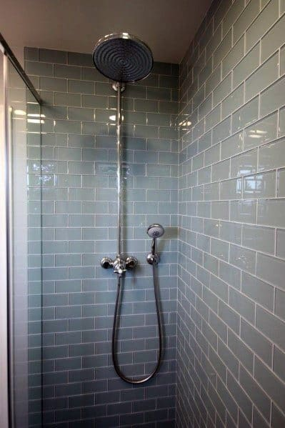 Subway Tile Shower Design Inspiration
