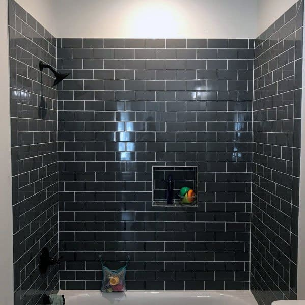 Subway Tile Shower Home Ideas