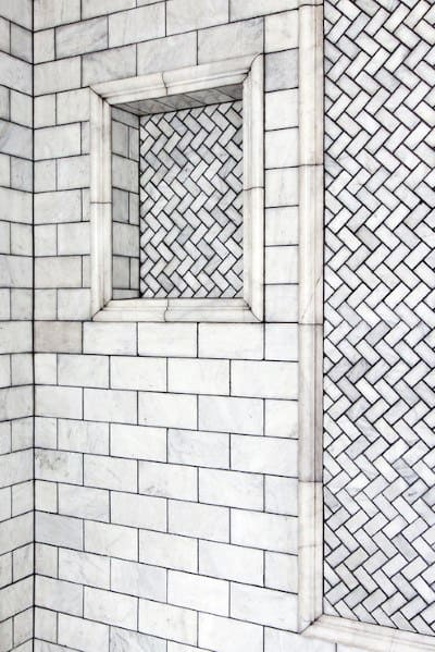 Subway Tile Shower Idea Inspiration
