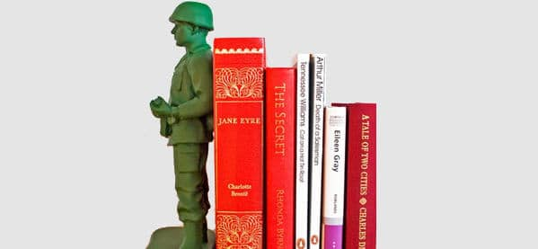 Suck UK Homeguard Toy Solider Book End Decor