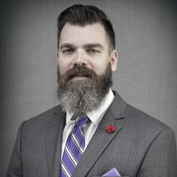 Suit And Tie Professional Beard Mens Professional Style Ideas