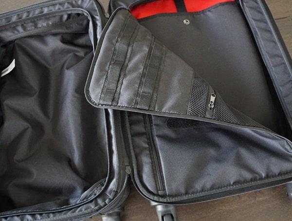 Suitcase Interior Gio Alpha Convoy 522s Travel Bags