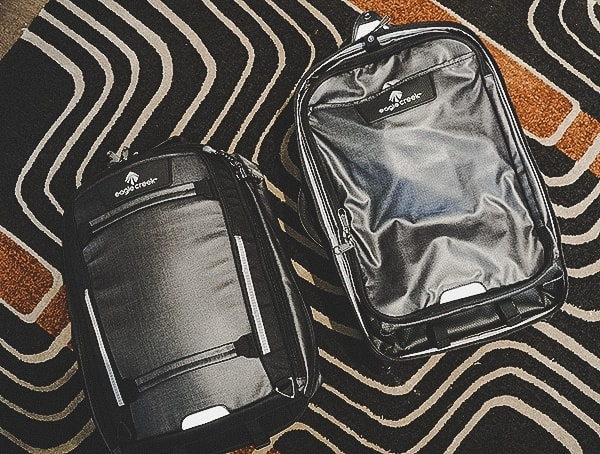 Suitcase With Backpack Divided Eagle Creek Morphus International Review