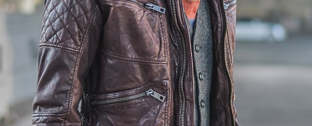 Summer Leather Jacket For Men