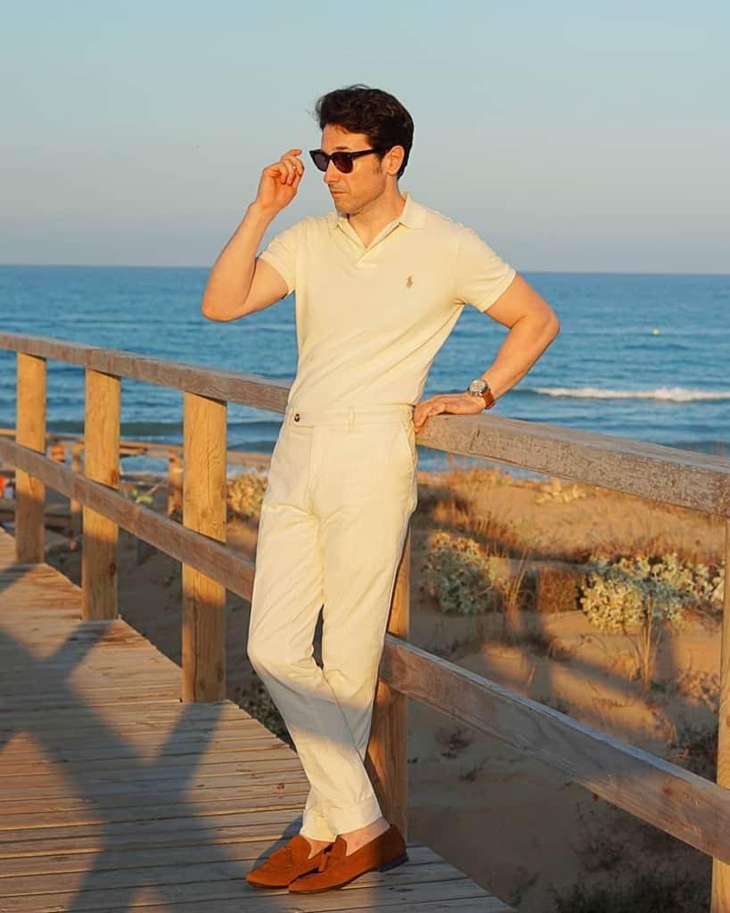 Style de tenue de look d'été