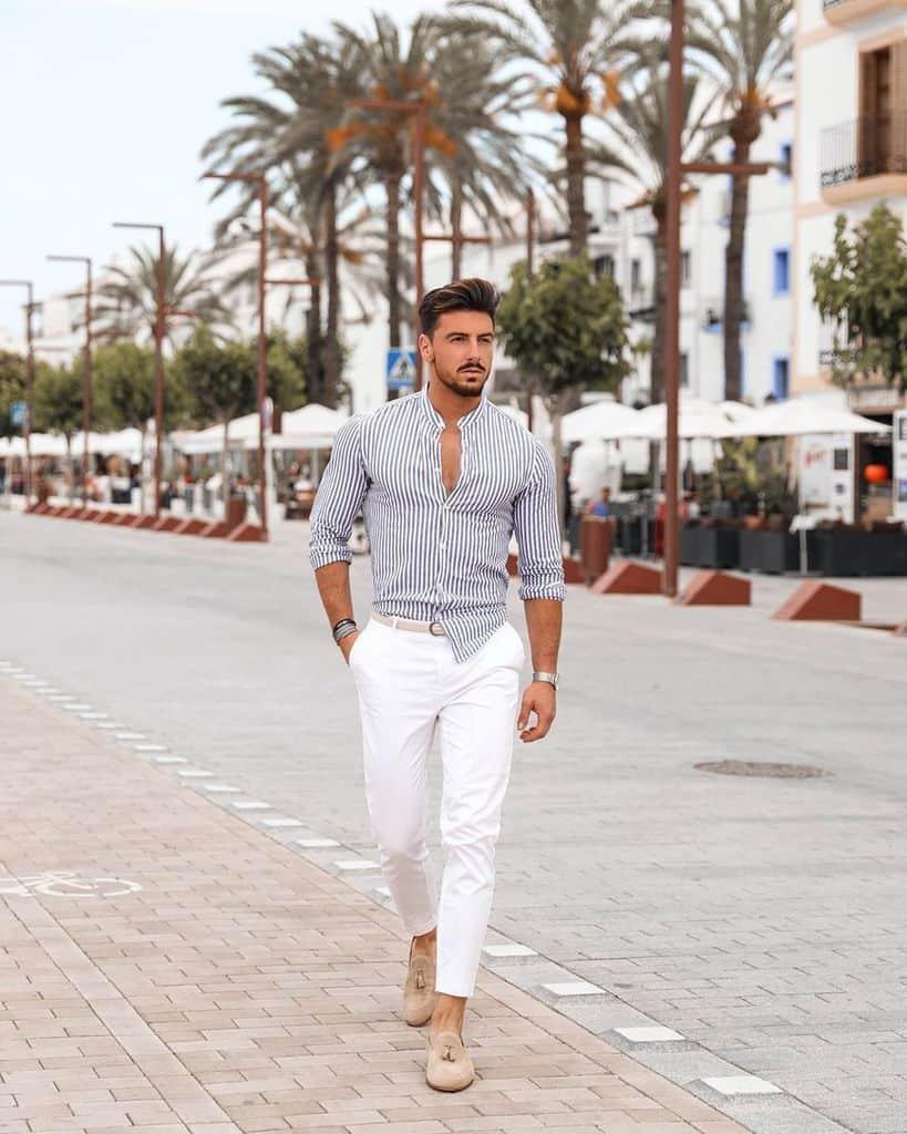 Style d'été pour hommes
