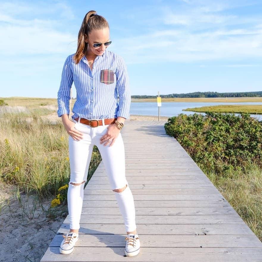 Summer Stripe Nautical Fashion