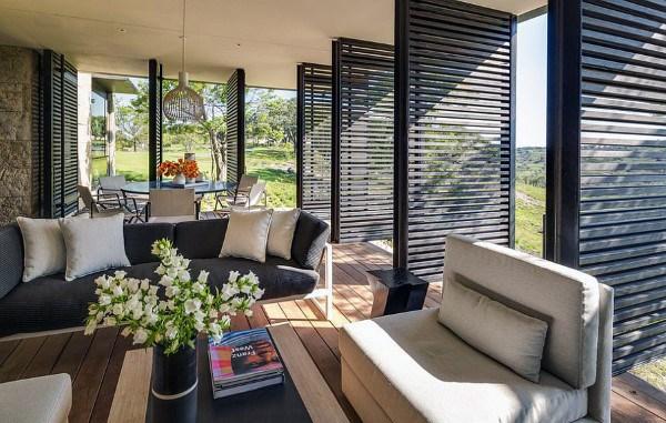Sun Shades Modern Sunroom Ideas