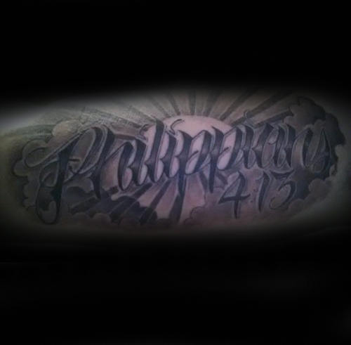 Sun With Philippians 4 13 Mens Arm Tattoo Ideas