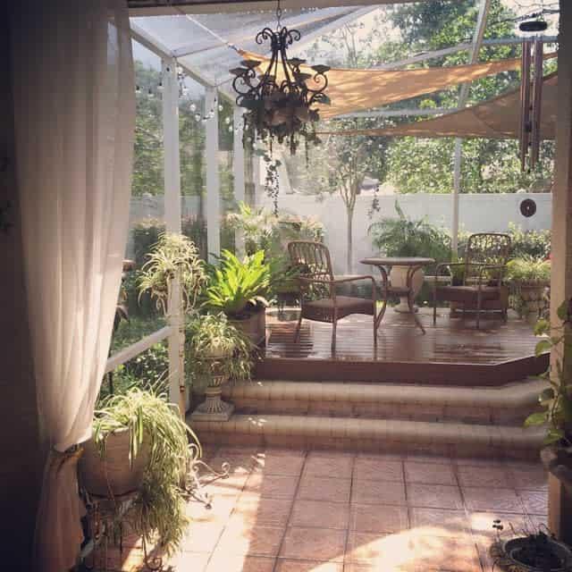 sunroom enclosed patio ideas bellafayegarden