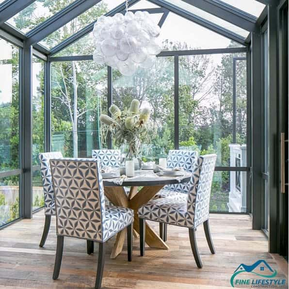 sunroom enclosed patio ideas finelifestyleconstruction