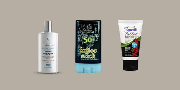 Sunscreen Tattoo Aftercare