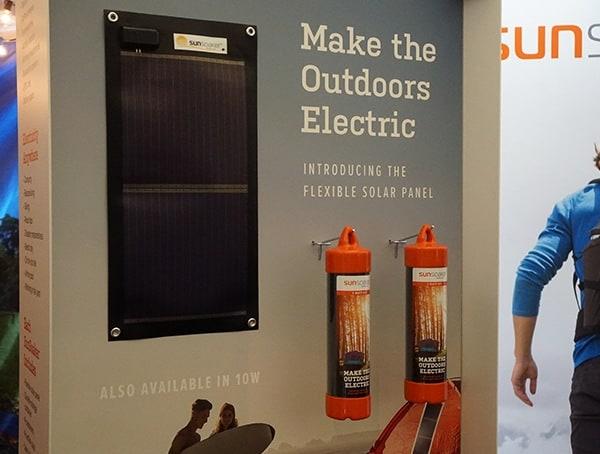 Sunsoaker Roll Up Flexible Outdoor Solar Panel