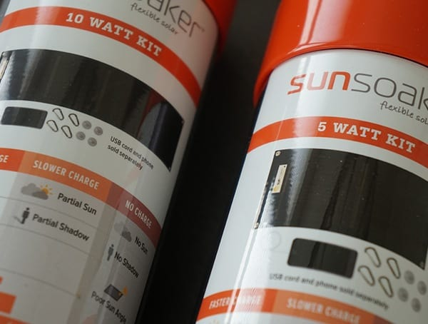 Sunsoaker Solar Kits 5 And 10 Watt Panels