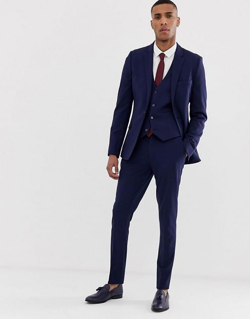 Super Skinny Suit In Navy