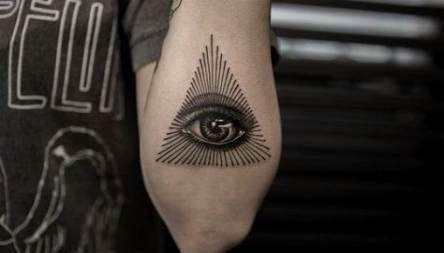 Super Third Eye Tattoo
