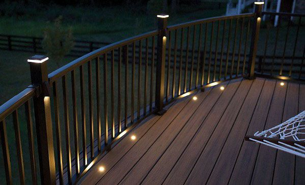 10 Great Deck Lighting Ideas For Your Outdoor Patio: Top 60 Best Deck Lighting Ideas