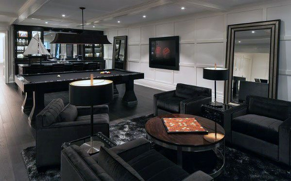 Superb Finished Basement Ideas