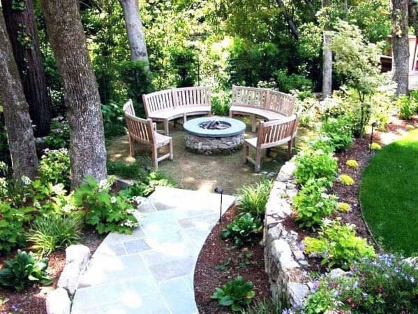 Superb Fire Pit Seating Ideas