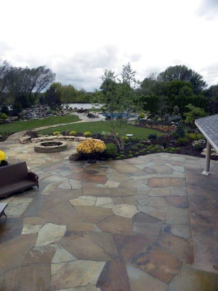 Superb Flagstone Patio Ideas